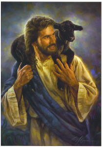 Jesus-Picture-Holding-Black-Lost-Sheep-209x300