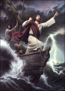 Jesus_160 calming the winds and the waves