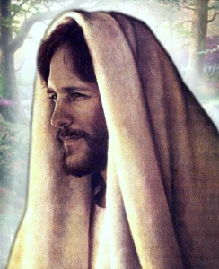 Jesus_182 with a head covering smiling