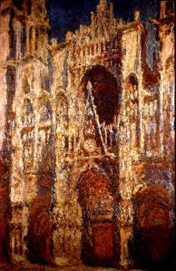 painting of cathedral
