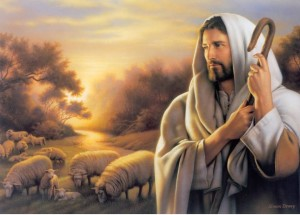 Jesus-Picture-The-Shepherd-With-His-Sheep-300x215