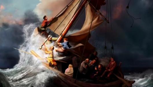 Rembrandt-Jesus-calming-the-storm